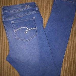 Justice Pull on w/button Plus Skinny Jean Jegging